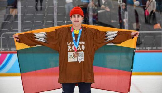 Pirmasis medalis Lietuvai jaunimo žiemos olimpinėse žaidynėse