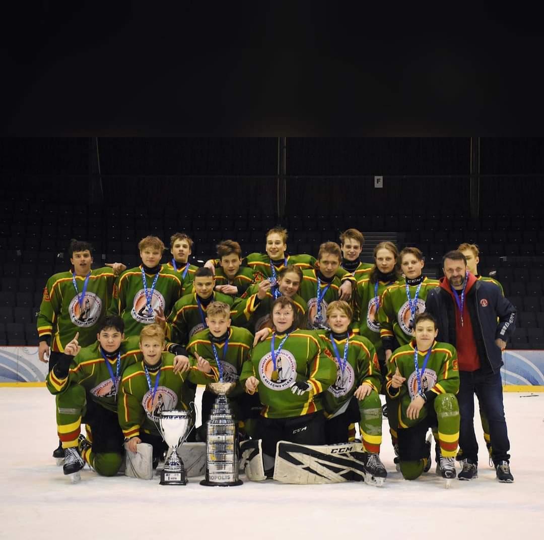 Garbinga pirma vieta 2020/2021 m. U15 (2006 m.) Lietuvos čempionate