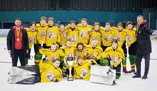 """Pergalingas Geležinio vilko savaitgalis """"Sostinė Hockey Cup"""" turnyre"""